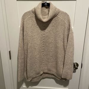 Mango Turtleneck Sweater Large
